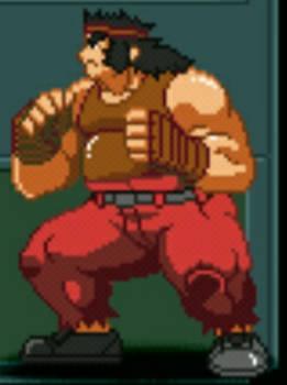 Crimson Fighter:Kyle Macdonald