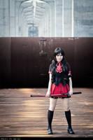 Blood-C_Kisaragi Saya 01 by WinryDeeDee