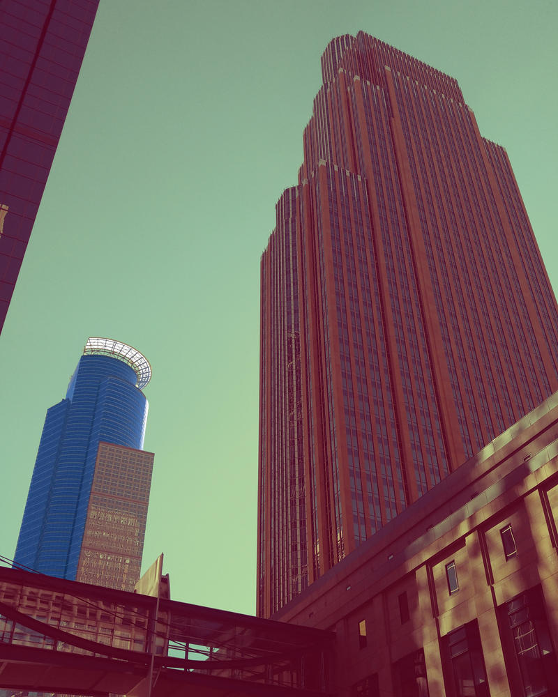 Downtown Mpls by Leo-Ascendent