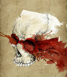 Weekend Skull Drawing