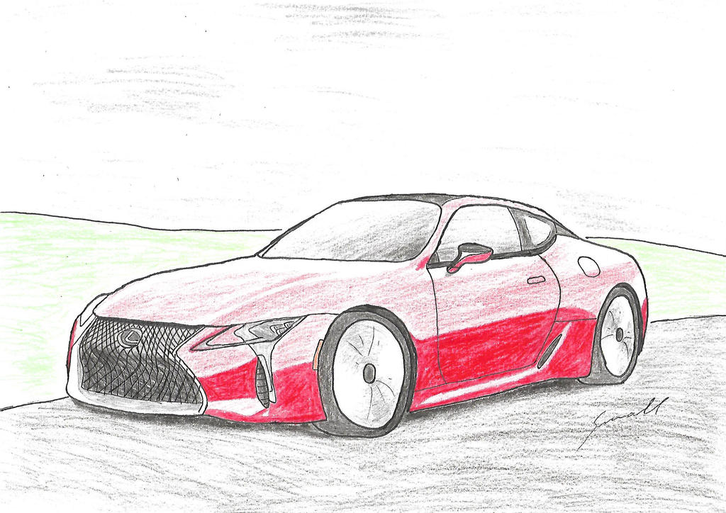 Lexus LC500 by small972