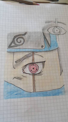 Kakashi Hatake drawing