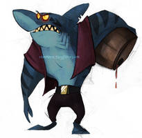 Pirate Shark by Tanimatic