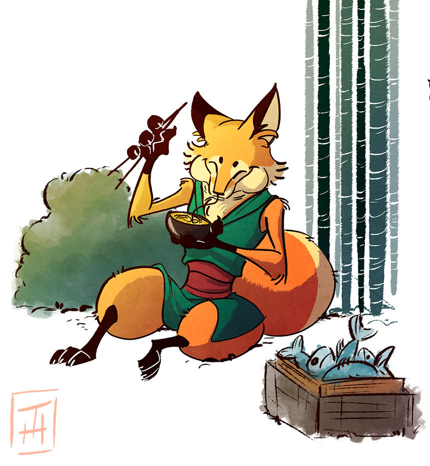 Meal time by Tanimatic