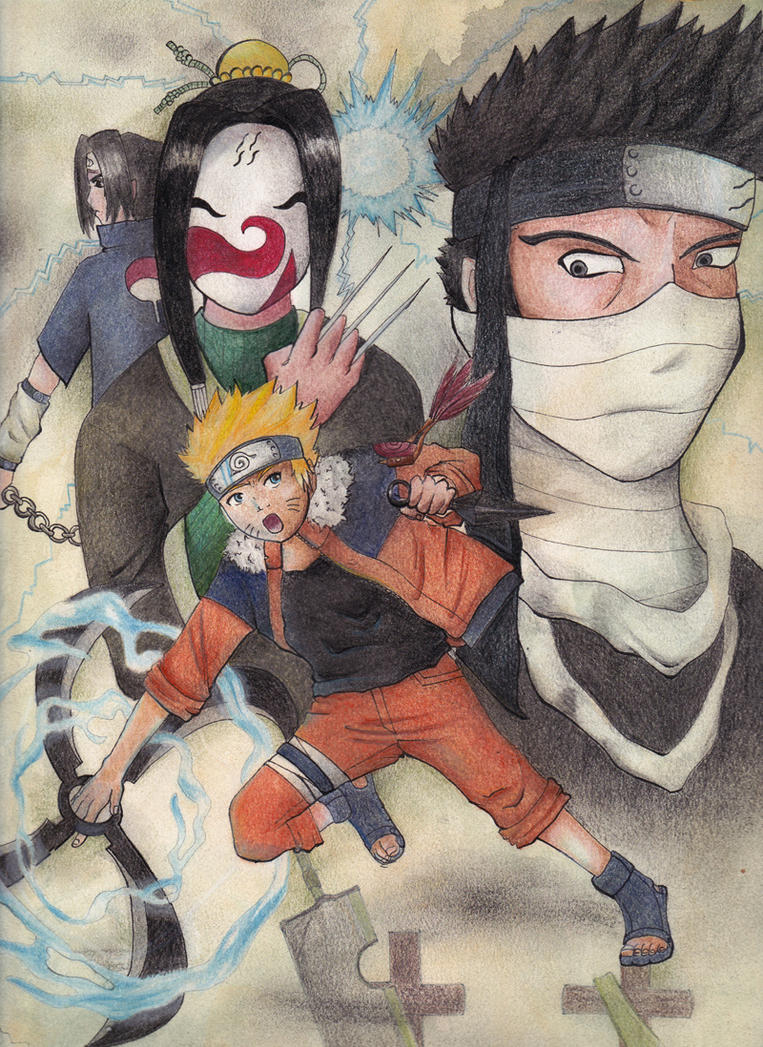The path of a ninja by the-inkpie