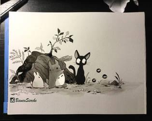 Totoro - Kiki
