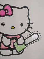 hell kitty the chainsaw