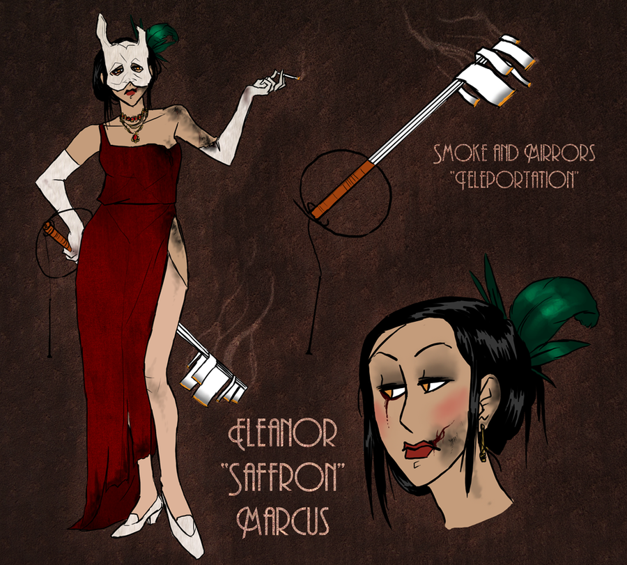 Eleanor 'Saffron' Marcus by hyperionwitch