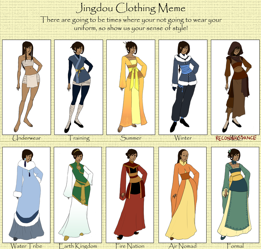 Mesoka - Clothing Meme Update by hyperionwitch on DeviantArt