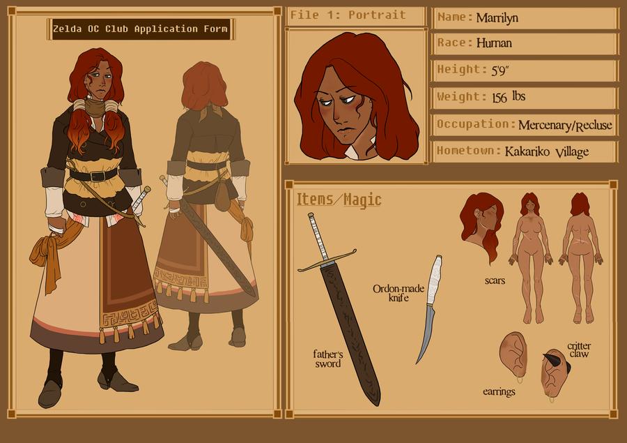 Marrilyn - mk. III by hyperionwitch