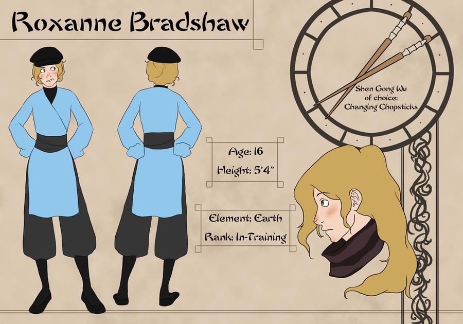 Roxanne 'Roxy' Bradshaw by hyperionwitch