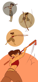 SA - Ryn's Polearm Training