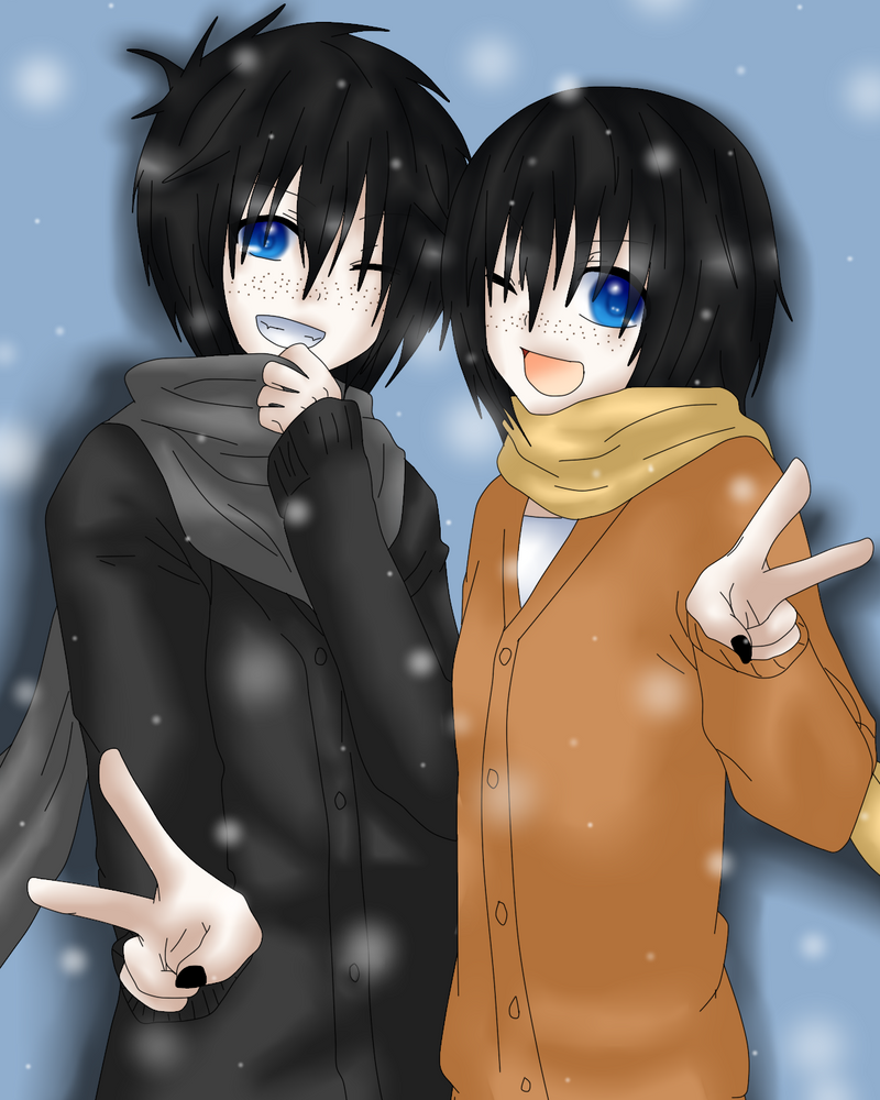 winter twins by ZeroLoveKimi