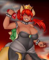 Bowsette by Imaginaricide