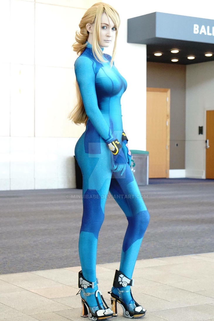 Zero Suit Samus Ssb4 By Minjibabe On Deviantart