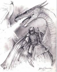 Murtagh and Thorn by Pilgrimwanders