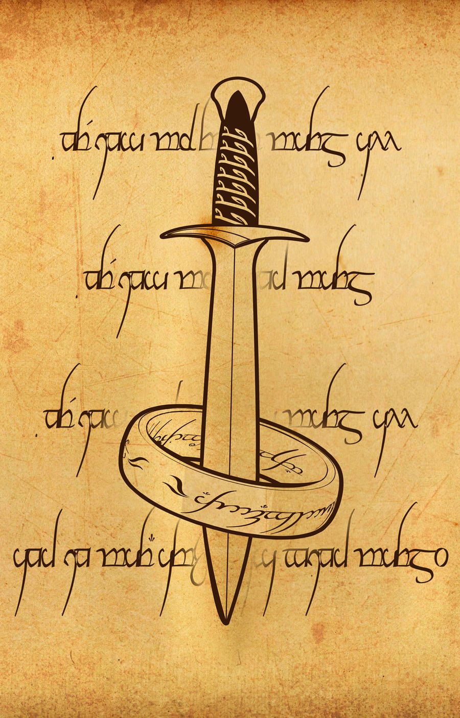 LOTR Iphone Wallpaper By Pilgrimwanders