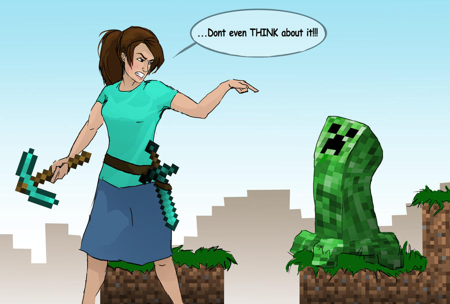 Me And Minecraft By Pilgrimwanders On DeviantArt