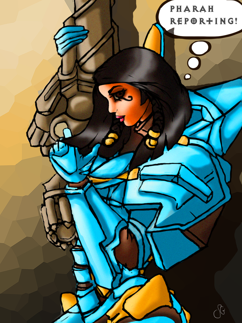Pharah reporting! by SofiettaG
