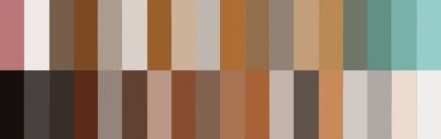 cool-tone brown palette f2u by yikz-adopts