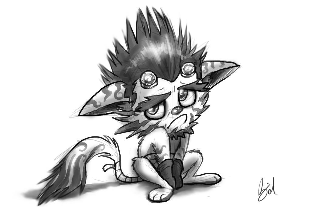 Sketch #5 by gabrielBD