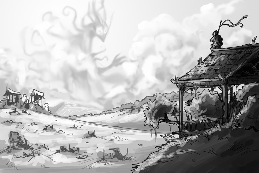 Sketch #6 by gabrielBD