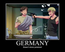 Germany DOESN'T share potatoes by MaraCroft3