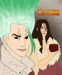 Dr Stone: Senku and Tsukasa