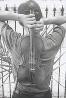 the violin by benfolding