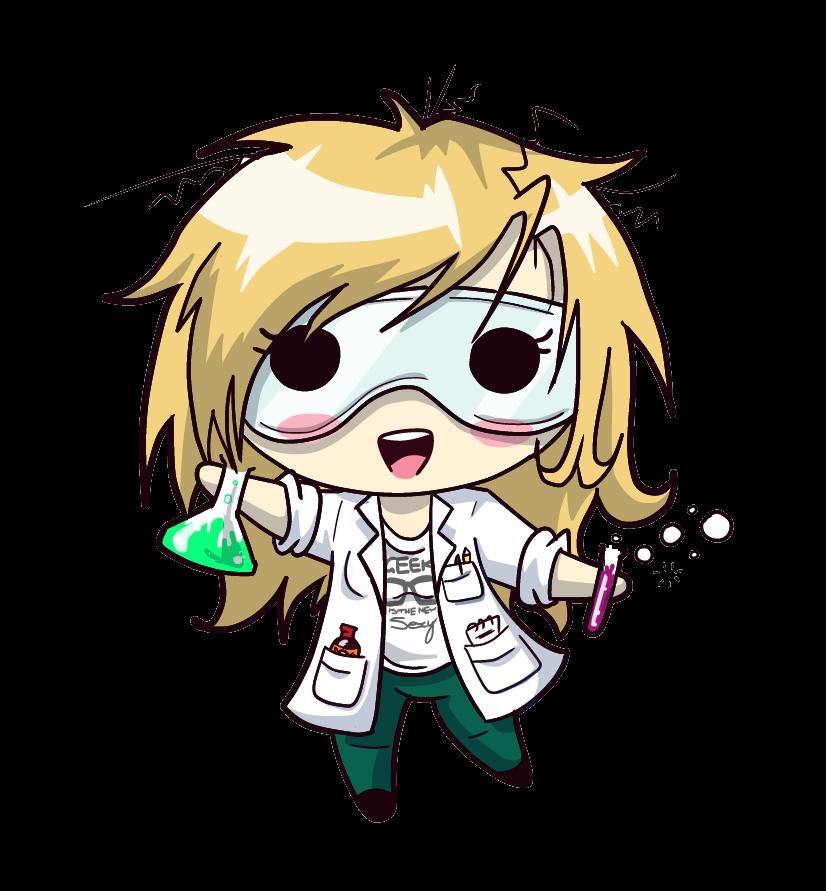 Squishy Scientist - Rachel by JammyScribbler on DeviantArt