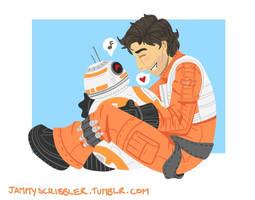 good job, BB-8! by JammyScribbler