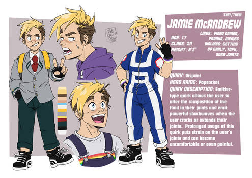 BNHA OC: Jamie McAndrew