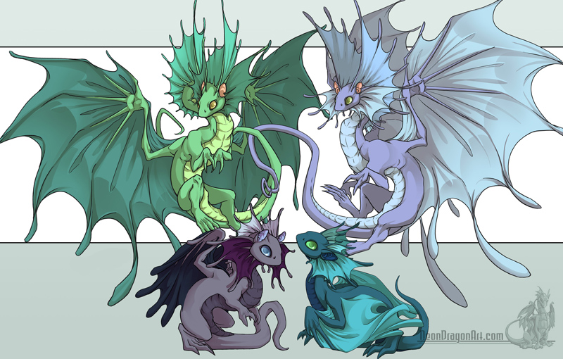 Fae dragons by neondragon on deviantart fae dragons by neondragon ccuart Image collections