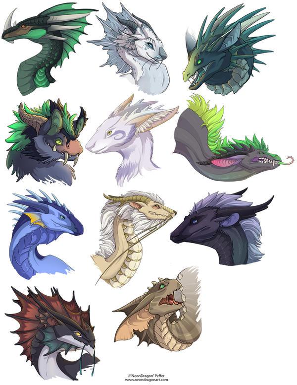 Dragon Heads 1