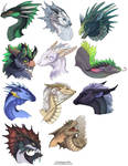 Dragon Heads 1