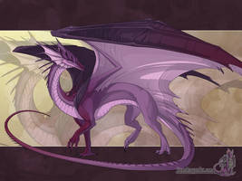 Lady of Dragons' Rilrae by neondragon