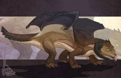 Stubby Leg Dragon by neondragon