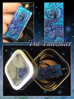 Glass Pendant - The Tidecaller by neondragon
