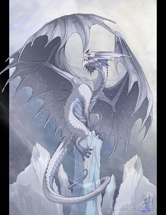 Frost Dragon: Frost Dragon By Neondragon On DeviantArt