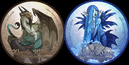 Wyvern's Wisdom + Siren's Song by neondragon