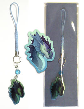 Phone Charm - Finned Dragon Bu