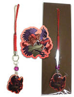 Phone Charm - Tengu by neondragon