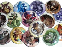 Photo: Mythology Buttons