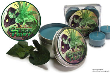 Green Fairy - Absinthe Candle