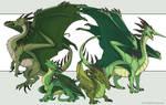 Ridgeback Dragons