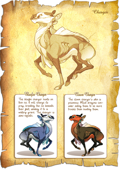 Flight Rising Bestiary: Charger