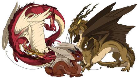 Flight Rising: Imperial Dragons