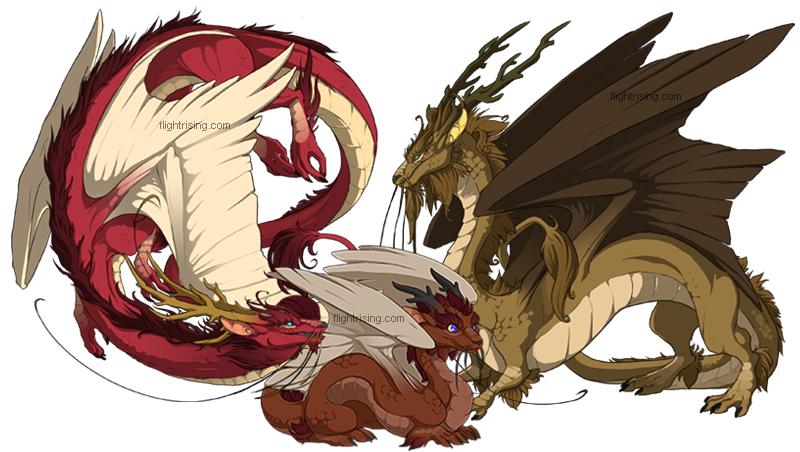 Flight Rising: Imperial Dragons by neondragon