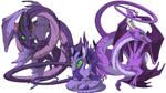 Flight Rising: Spiral Dragons by neondragon