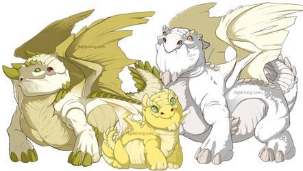 Flight Rising: Snapper Dragons